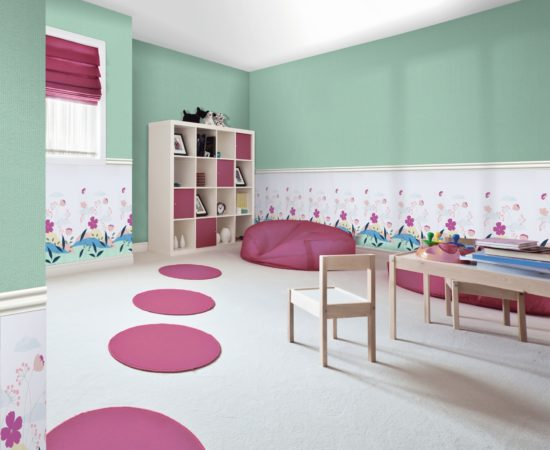 Interesting design for a child's play room